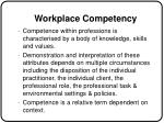 workplace competency