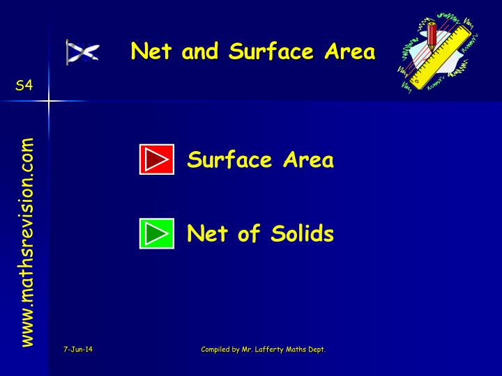 Net and surface area
