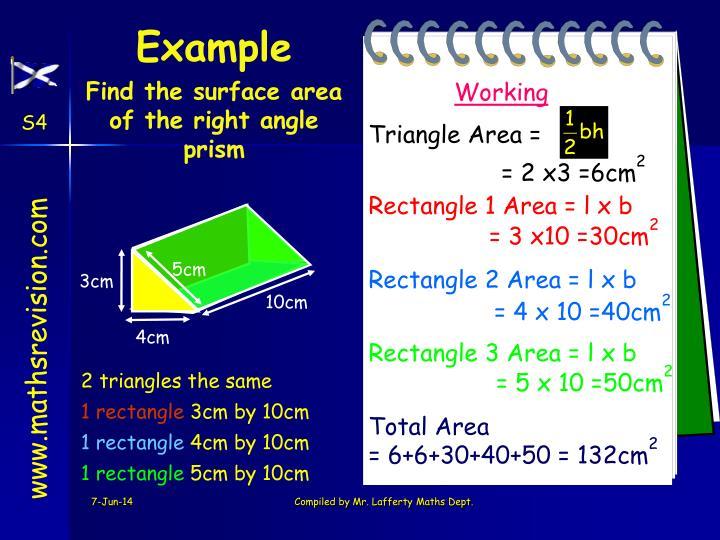 Triangle Area =