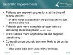 scientific improvements