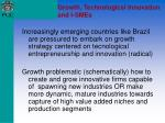 growth technological innovation and i smes