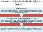 instrumentos qualidade da educa o superior1