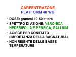 carfentrazone platform 40 wg