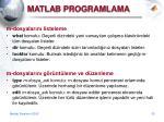 matla b programlama4
