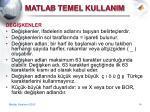 matla b temel kullanim5