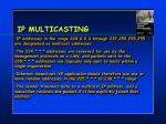 ip multicasting1