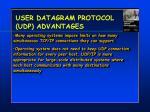 user datagram protocol udp advantages1