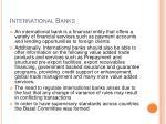 international banks