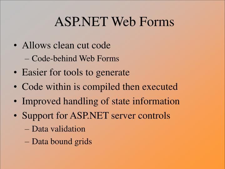 ASP.NET Web Forms