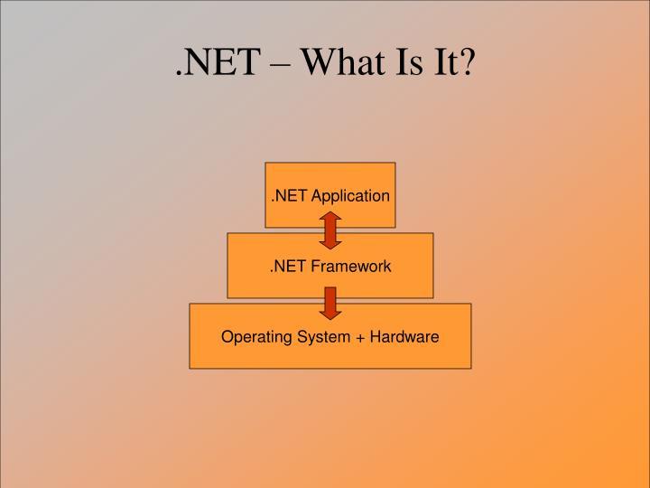 .NET Application