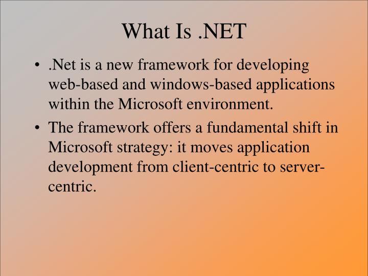 What is net