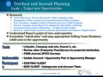 territory and account planning