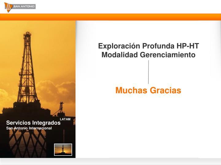 Exploración Profunda HP-HT