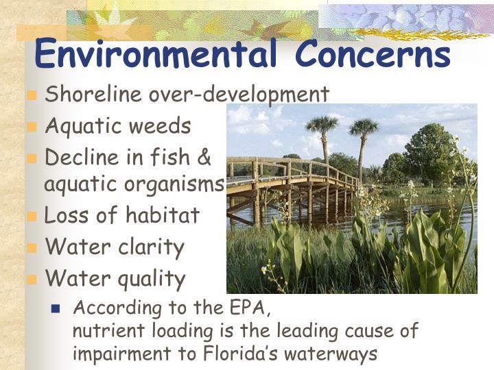 Environmental Concerns