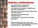 historia y pretensiones1