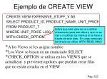 ejemplo de create view