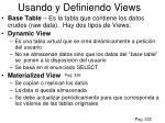 usando y definiendo views1