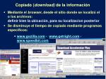 copiado download de la informaci n