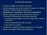 prevenci n primaria