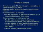 prevenci n primaria1