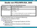 studie von ifeu infa isa 20051
