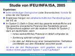 studie von ifeu infa isa 20052
