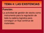 tema 4 las existencias1