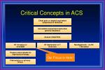critical concepts in acs2