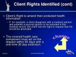client rights identified cont1
