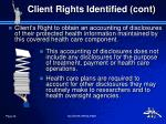 client rights identified cont3