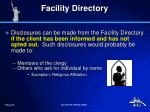 facility directory2