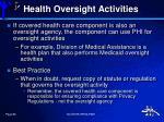 health oversight activities1