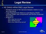 legal review