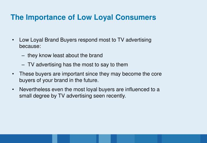 The Importance of Low Loyal Consumers
