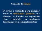 conceito de drogas