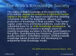 the arab s knowledge society