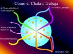 como el chakra trabaja