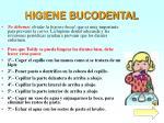 higiene bucodental
