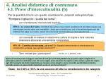 4 analisi didattica di contenuto 4 1 prove d interculturalit b