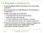 6 principali conclusioni 1