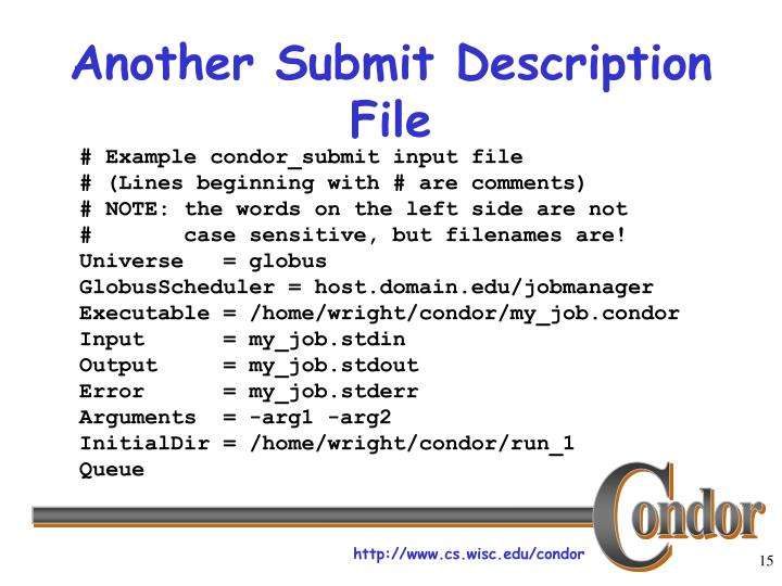 Another Submit Description File