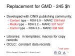 replacement for gmd 245 h