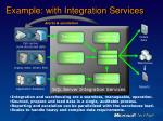 example with integration services