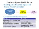 desire a general middlebox