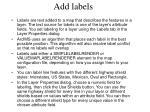 add labels