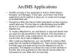 arcims applications