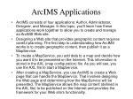 arcims applications