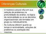 diferen as culturais
