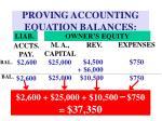proving accounting equation balances11