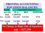 proving accounting equation balances13
